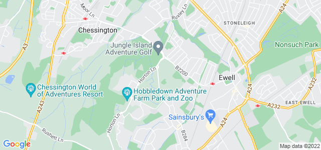 Location map for Carpet Fitter in Epsom,  KT19
